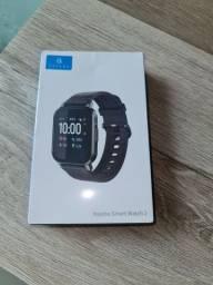 Smartwatch Haylou Ls02 zero na caixa.