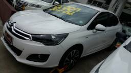 Citroen C4 Lounge 1.6 S 16V Turbo Flex Automatico 16/17 Branco 51.500KM