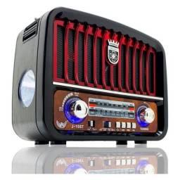Caixa de Som Rádio Retrô/Vintage J-108T