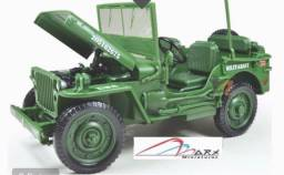 Jeep Militar Usa Escala 1:18