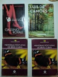 Lote livros diversos novos e seminovos incluindo clássicos