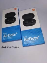 Novo AirDots S / Fone sem fio Bluetooth Xiaomi Redmi AirDots