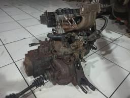 Motor Parcial Mpfi Gm Corsa 1.0 8v Gasolina Com Nota Fiscal