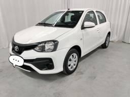 Toyota Etios x 1.3 2019 pra vender rápido