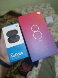 Xiaomi MI8 Lite 128/6 + mi airdots