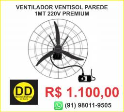 Ventilador Ventisol Parede 1Mt 220v Premium