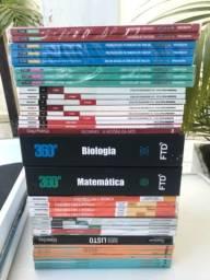 Coleção de livros novos FTD e outros