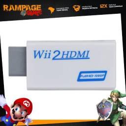 Wii2hdmi - Adaptador Conversor Hdmi Para Wii Full Hd Tv Lcd Lacrado