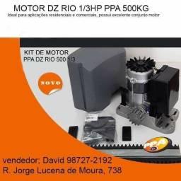 Título do anúncio: Motor PPA Dz Rio 500kg 1/3hp para para portão com instalação