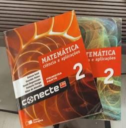 Box de livros Conecte Matemática 2 e ciência e aplicações