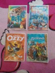 4 DVDS por 7 Reais sem nenhum defeito