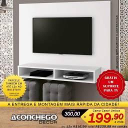 """Home Suspenso Para TVs de até 46"""" Promoção!!!"""