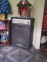 Caixa de som amplificada/ frahm MP 3000 BT