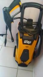 Lavadora de alta pressão Wap Líder 2200 amarela/preta de 1750W com 1800psi 220v