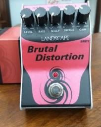 Troco pedal Brutal distortion