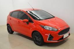 New Fiesta SE 1.6 - completo - vermelho - ano 2019