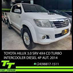 Toyota Hilux 3.0 Srv 4X4 Cd 16V Turbo Intercooler Diesel Aut. 2014