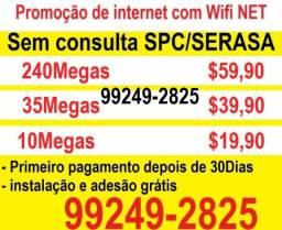 Título do anúncio: internet sem consulta spc