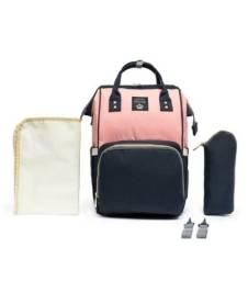 Bolsa mochila maternidade Lequeen