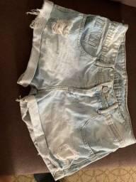 Short jeans destroyd