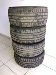 Título do anúncio: 4 Pneus Aro 18 235 40 18 delinte ds7 sport pneu