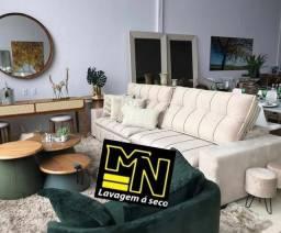 Título do anúncio: Higienização e lavagem  a seco de sofá em promoção  a partir 79.99