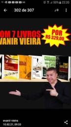 Kit sete livros