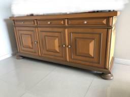 Buffet aparador antiguidade madeira maciça