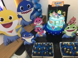 Kit de aniversário beby shark