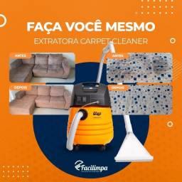 Título do anúncio: Máquina limpar estofados: aluguel extratora, limpeza de sofá, colchão, tapete Facilimpa