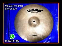 "Prato Crash 17"" / Wuhan / Hand Made / Bronze B20"