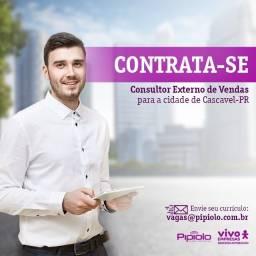Consultor Externo de Vendas - Cascavel/PR
