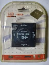 Extensão HDMI com 3 saidas