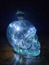 Luminária de caveira/luminária de led