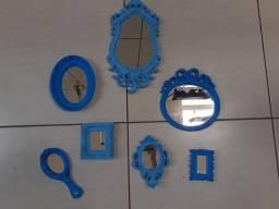 Vendo espelhos provençais e quadrinhos
