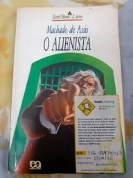 """Livro """"O Alienista"""""""
