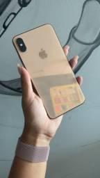 iPhone XS Max 64GB gold ( somos loja)