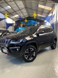 jeep compass trailhawk 2.o diesel 2018 automático completo