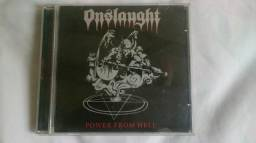 CD Onslaught - Power From Hell