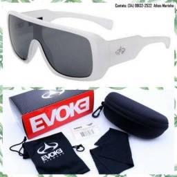 Óculos Evoke Amplifier Play it Louder (Armação branca/Lente preta)