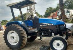 New Holland TL75 Trator Agrícola Ano: 2002