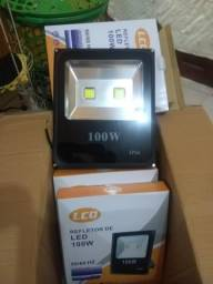 Refletor de LED de 50w e 100w valor 100