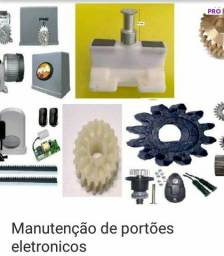 Manutenção motor portão eletrônico