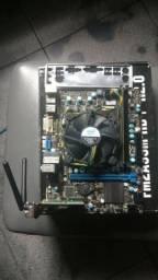 Kit Core I3 3.10Ghz,+Memoria 4gb 1600+Placa mãe MSI 1155+ Placa wifi 300Mbps