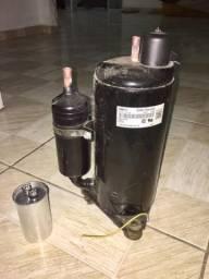 Vendo um compressor seminovo, 12mil Btu