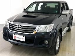 Toyota Hilux CD SRV D4-D 4x4 3.0 TDI Diesel Aut - Preto - 2013 - 2013