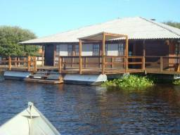 Pousada Flutuante no Pantanal