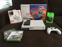 Xbox One S 500gb + HD Externo 1Tb + Jogos