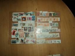 Coleção antiga de 379 selos - Diversos Países