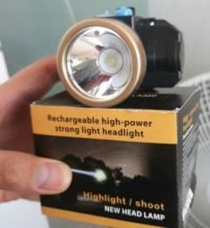 Lanterna LED de cabeça